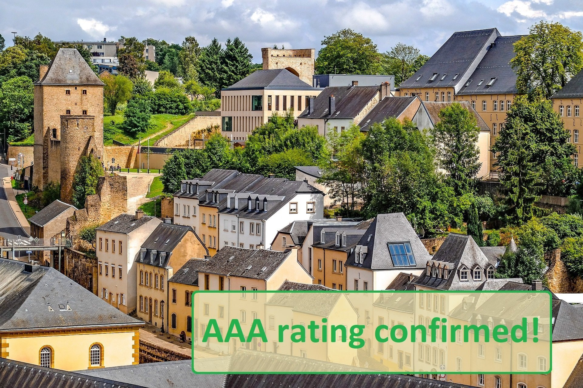 AAA rating Luxemburg confirmed by Moody's